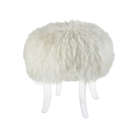"Hair Apparent 20""h Stool"