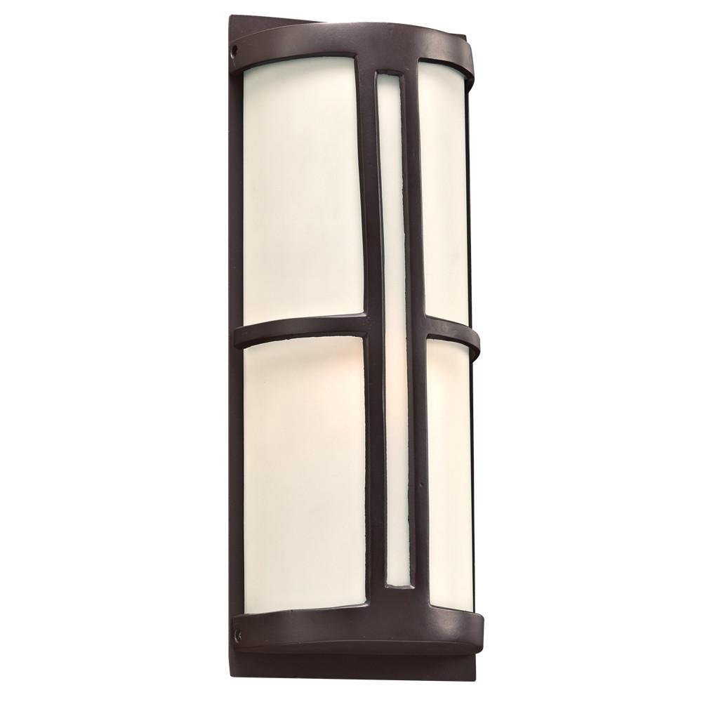 "Rox 17""h Outdoor Wall Fixture - Bronze Outdoor PLC Lighting"