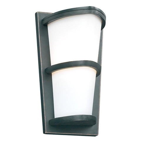 PLC Lighting 1 Light Outdoor Fixture Alegria Collection 31912 ORB