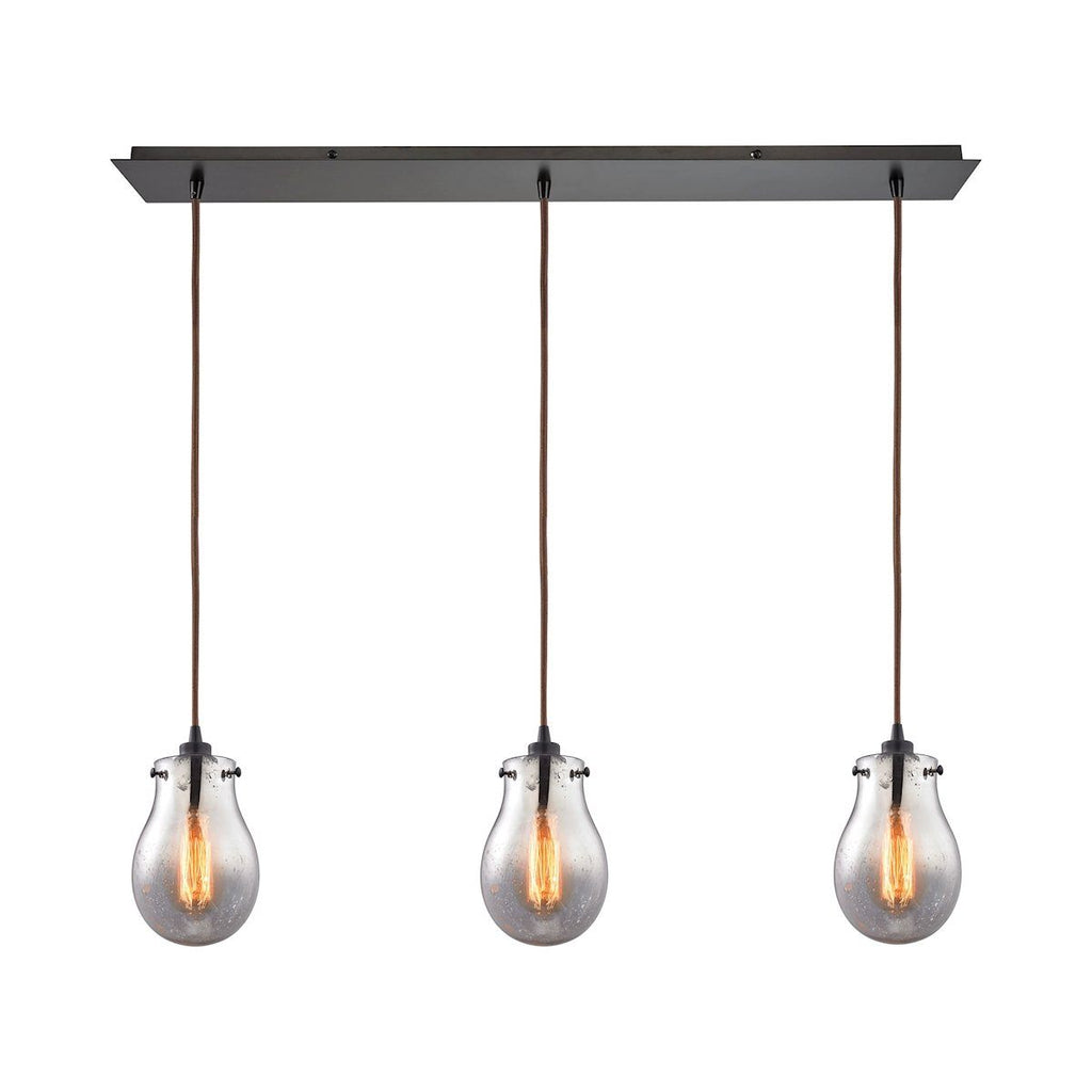 Jaelyn 3 Light Pendant In Oil Rubbed Bronze Ceiling Elk Lighting