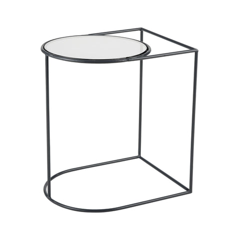 Thermo Accent Table in Grey and Smoked