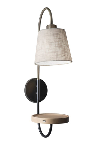 Jeffrey Wall Lamp Lamps Adesso