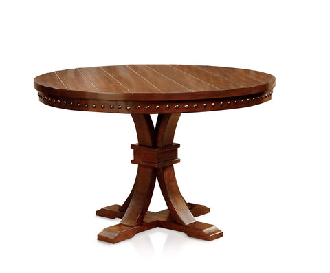 Lesle Expandable Dining Table Dark Oak