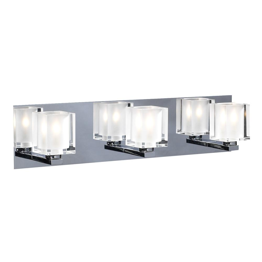 PLC 3 Light Vanity Glacier Collection 3483 PC