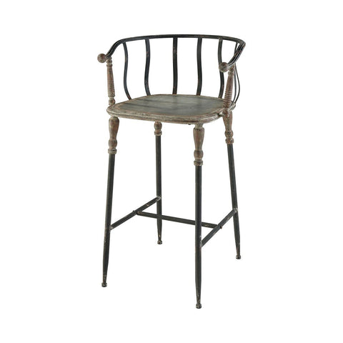 "Yonkers 37""H Bar Stool"