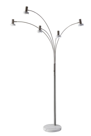 "Miranda 76""h LED Arc Lamp Lamps Adesso"