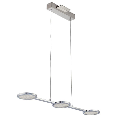"Ariella LED 3-Light 35""w Pendant Ceiling PLC Lighting"