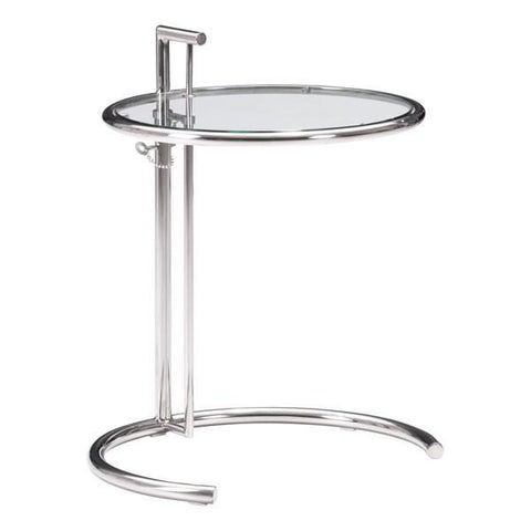 Eileen Grey Table Chrome
