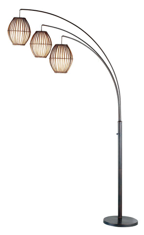 Maui Arc Lamp Lamps Adesso