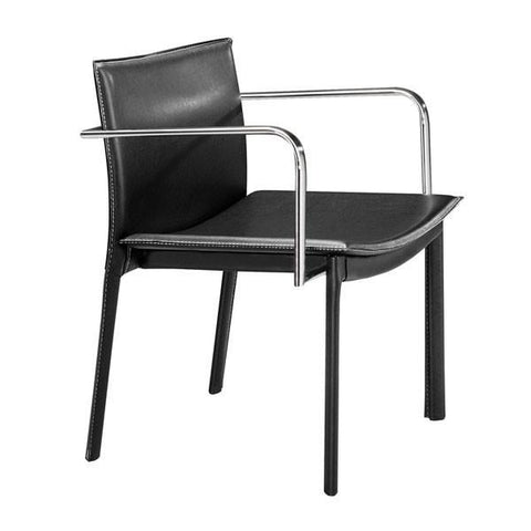 Gekko Conference Chair Black (Set of 2) Furniture Zuo