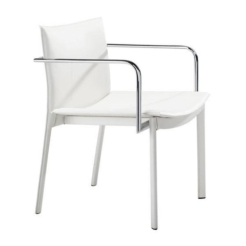 Gekko Conference Chair White (Set of 2) Furniture Zuo