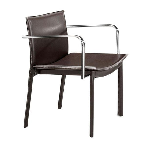 Gekko Conference Chair Espresso (Set of 2) Furniture Zuo