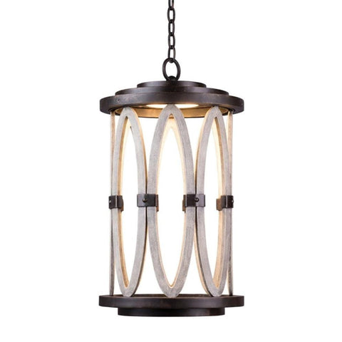 Belmont Large LED Hanging Lantern
