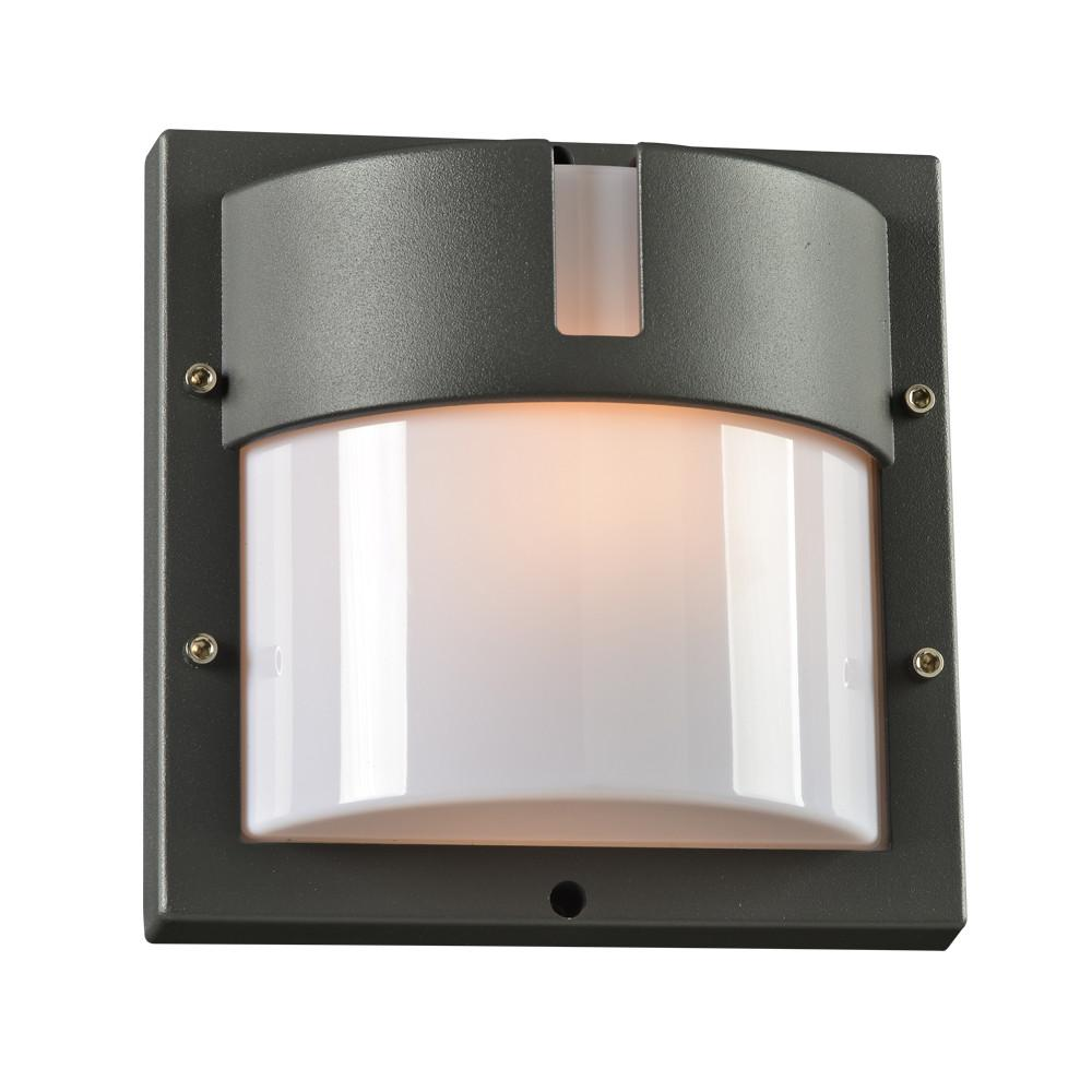 "Jedi 9.5""h Outdoor ADA Wall Light - Bronze Outdoor PLC Lighting"