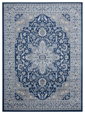 Clairmont Collection Collection Rug - Denim Blue (7 Sizes and Shapes)