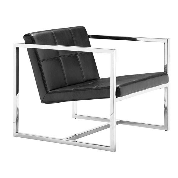 Carbon Chair Black Furniture Zuo