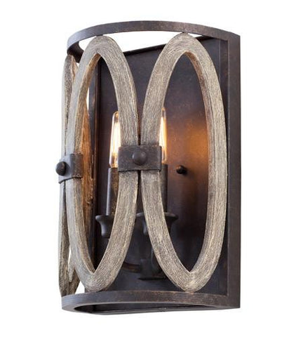 Kalco Belmont 2 Light Wall Sconce 500221FG