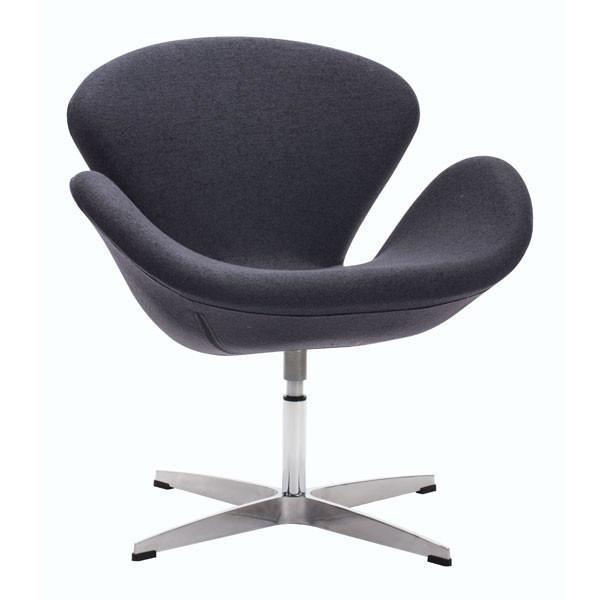 Zuo Pori Arm Chair Iron Gray