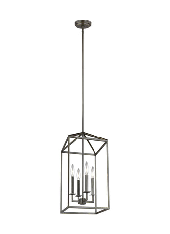 Perryton Medium Four Light LED Hall / Foyer - Heirloom Bronze