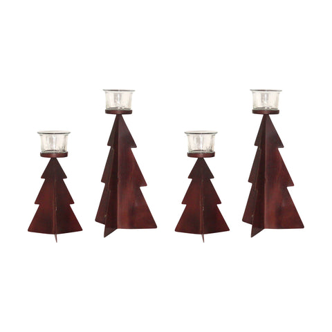 Holiday Set of 4 Tree Lighting: 2 Sm-2Lg Accessories Pomeroy