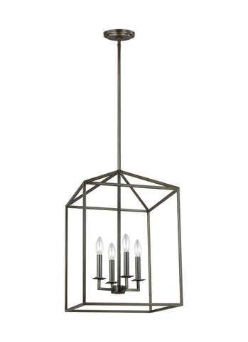 Perryton Small Four Light LED Hall / Foyer - Heirloom Bronze