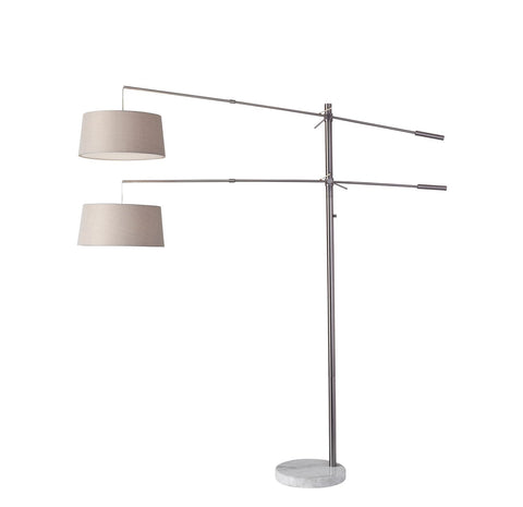 Manhattan Two-Arm Arc Lamp Lamps Adesso