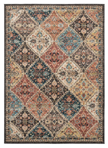 Marrakesh Collection Rug - Multi (7 Sizes and Shapes)