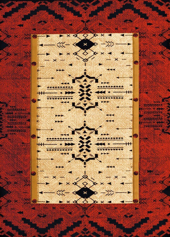 "Contours Collection Rug - Made True Arrow Pattern (5 Sizes) Rugs United Weavers Mat 1'10"" x 2'8"""