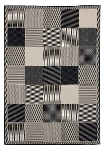 Augusta Collection Collection Rug - Black (2 Sizes)
