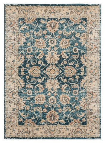 Marrakesh Collection Rug - Cerulean (7 Sizes and Shapes)