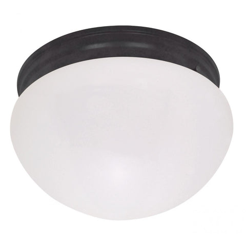 "10"" Medium White Mushroom Ceiling Nuvo Lighting"