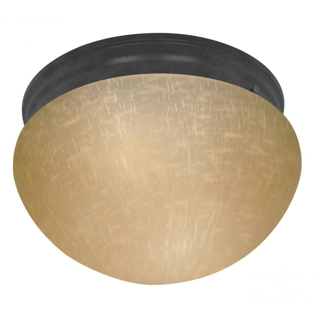 "10""w Bronze Mushroom Ceiling Light Ceiling Nuvo Lighting Bronze"