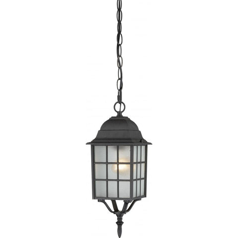 "Nuvo Lighting Adams 1 Light 16"" Outdoor Hanging with Frosted Glass 60/4913"