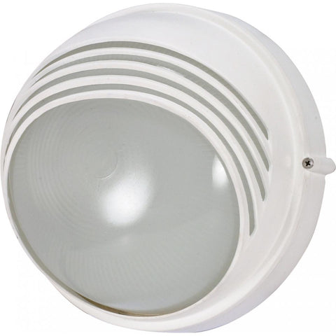 "Nuvo Lighting 1 Light 10"" Round Hood Bulk Head Die Cast Bulk Head 60/520"