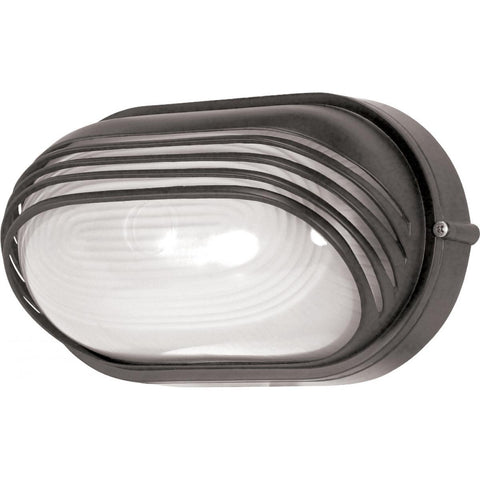 "Nuvo Lighting 1 Light 10"" Oval Hood Bulk Head Die Cast Bulk Head 60/523"