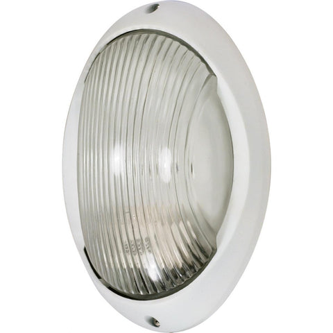 "Nuvo Lighting 1 Light 11"" Large Oval Bulk Head Die Cast Bulk Head 60/526"