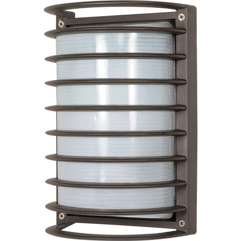 "Nuvo Lighting 1 Light 10"" RectAngle Cage Bulk Head Die Cast Bulk Head 60/533"