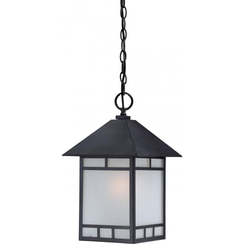 Nuvo Lighting Drexel 1 Light Outdoor Hanging Fixture with Frosted Seed Glass 60/5604
