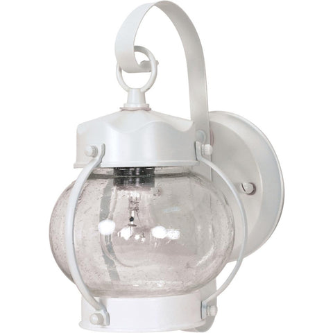 "Nuvo Lighting 1 Light 11"" Wall Lantern Onion Lantern with Clear Seed Glass 60/630"