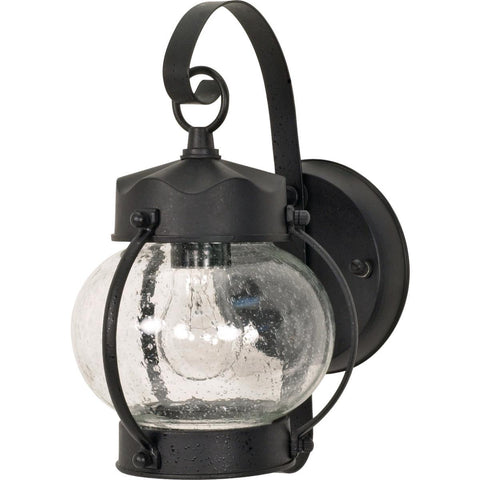 "Nuvo Lighting 1 Light 11"" Wall Lantern Onion Lantern with Clear Seed Glass 60/632"