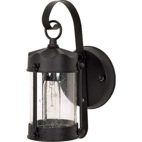 "Nuvo Lighting 1 Light 11"" Wall Lantern Piper Lantern with Clear Seed Glass 60/635"