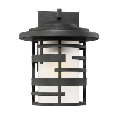 "Nuvo Lighting Lansing 1 Light 12"" Outdoor Wall Lantern With Etched Glass 60/6402"