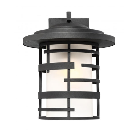 "Nuvo Lighting Lansing 1 Light 14"" Outdoor Wall Lantern With Etched Glass 60/6403"