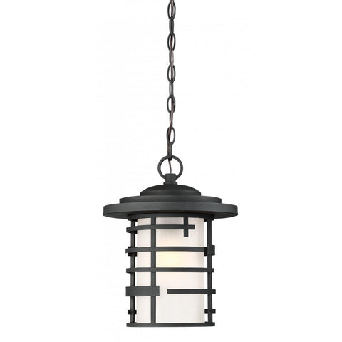 Nuvo Lighting Lansing 1 Light Outdoor Hanging Lantern With Etched Glass 60/6405