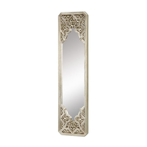 Gothic Mirror In Antique Silver Leaf Mirrors Sterling