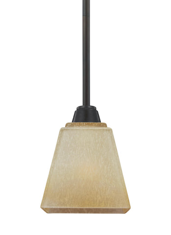 Parkfield One Light Mini-LED Pendant - Flemish Bronze