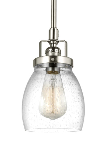 Belton One Light Mini-Pendant - Brushed Nickel
