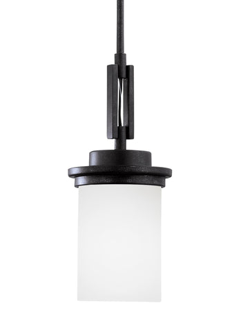 Winnetka One Light Mini-LED Pendant - Blacksmith