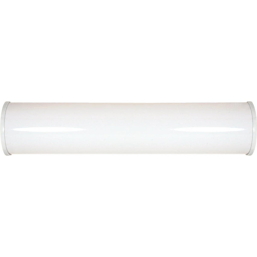 "Crispo LED 25"" Vanity Fixture White Finish Lamps Included Wall Nuvo Lighting"
