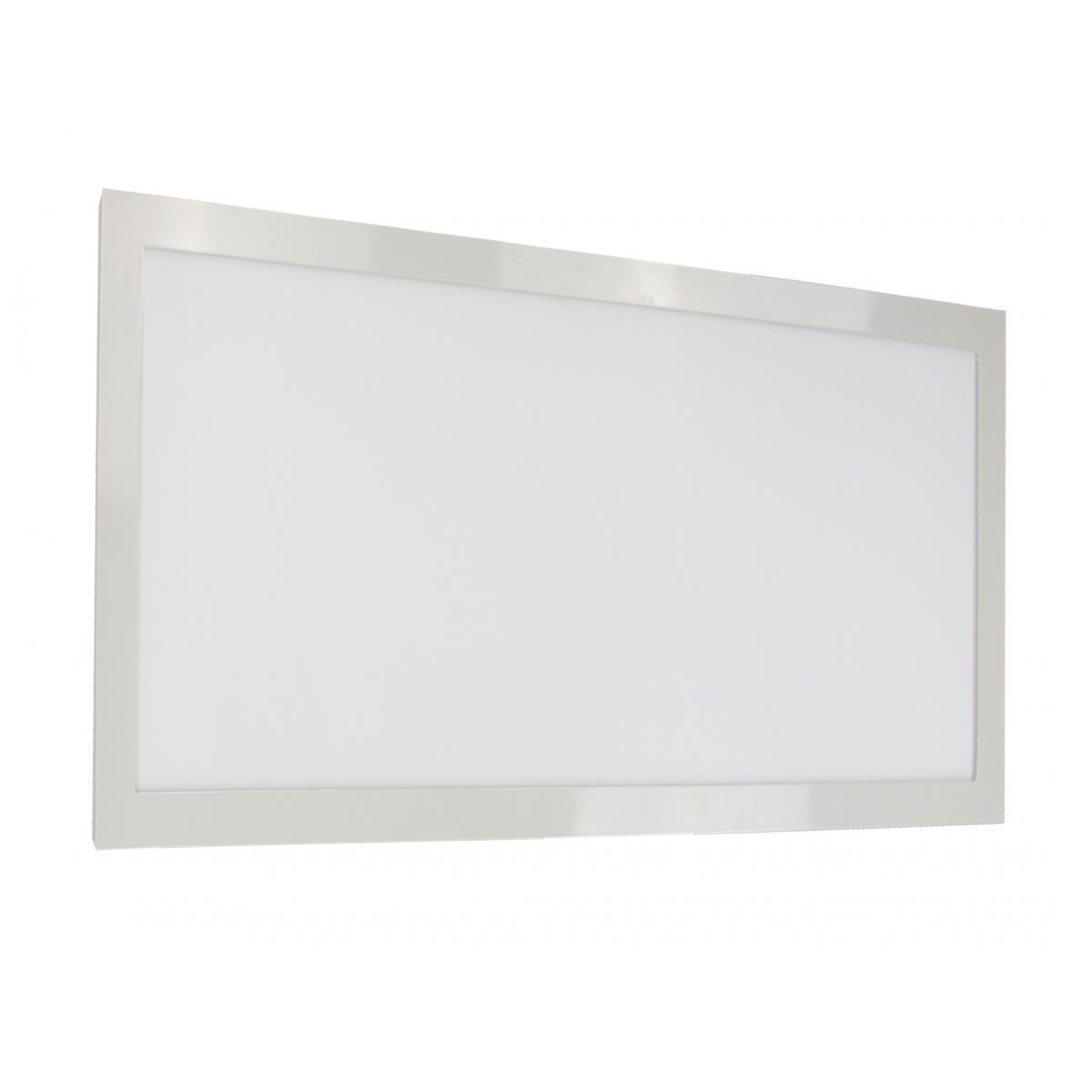 "22 Watt 12"" x 24"" Surface Mount LED Fixture 3000K 90 CRI Low Profile 120/277 Volts Ceiling Nuvo Lighting"